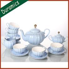 Porcelain 6pcs coffee tea set design for Europe