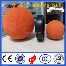 rubber ball for concrete pump pipe cleaning/concrete line pump spare parts/sponge rubber cleaning ball