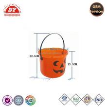 ICTI certificated custom made halloween pumpkin plastic ice bucket 20 liter