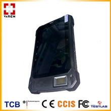 Tough Industrial Tablet RFID Reader With Android System Applied To Police Service & Law Enforcement