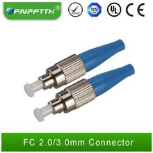 2.0mm multi mode duplex sc/st/fc/lc fiber optic connecter
