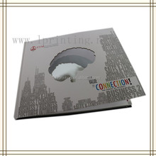 China custom special books, Art book hardcover book with sewn binding