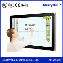 Education Multimedia for Classroom 42/46/55/65/70 inch Touch Digital Interactive Whiteboard