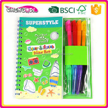 Home Easy children art paper drawing filling book