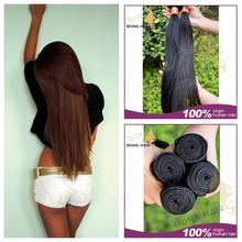 No tangle fast shipping long sex Mongolian bundles hair, 100% real human hair 7A grade futura fiber hair extension