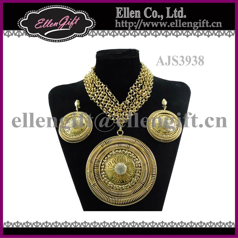Big Fashion African Jewelry Set Ajs3938 View African Jewelry Set Ellengift Product Details