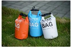 2015 Hot Sale PVC Waterproof Dry Bag For Swimming Boating Custom Logo