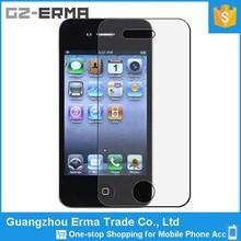 Schermo del telefono mobile accessorio 9h 0.33mm 2.5D vetro temperato protezione dello schermo per il iphone 4s