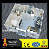 High Quality Container home/no need to be installed on site