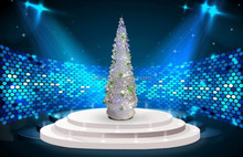 New design top quality mountain king artificial christmas tree, christmas tree with snow effect