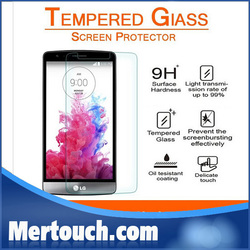 For LG G3 tempered glass screen protector 0.26mm front touch screen protector for LG G3 mobile phone