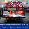 hydraulic/electric system 5d cinema simulator 4d cinema equipment