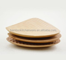 eco friendly kitchen wooden serving plate