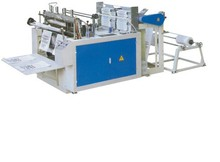 heat-sealing&heat-cutting bag -making machine(double photocell)