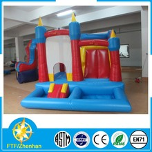 Comfortable inflatable bouncy castle