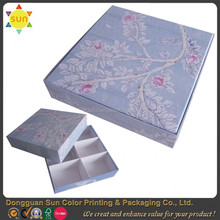 Recycle paper soap box cardboard soap box bar soap box with compartments