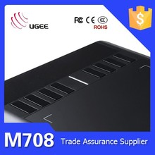 """Ugee M708 Art Graphics Drawing Tablet 10"""" For Windows PC Mac New"""
