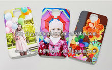3D sublimation phone case for SAMSANG S4 Top quality 3D sublimation BLANK case 3D sublimation BLANK phone cover OEM