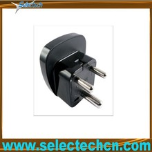 2014 best sale unique design Plug Adapter University to South africa travel adapter plug with secuity gate SES-10