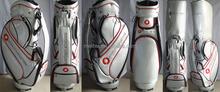 Singpore bank customized white color series golf bag
