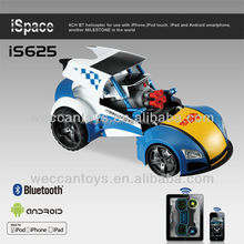 iS625 -transform and roll out! bluetooth control rc car with missile shooting