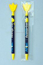 Famous Brand Topside Cartoon Customzied Advertising Plastic Ballpoint Pen For Students & Schools