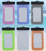 Clear moblie phone pouch Waterproof 5.7 inches PVC bag