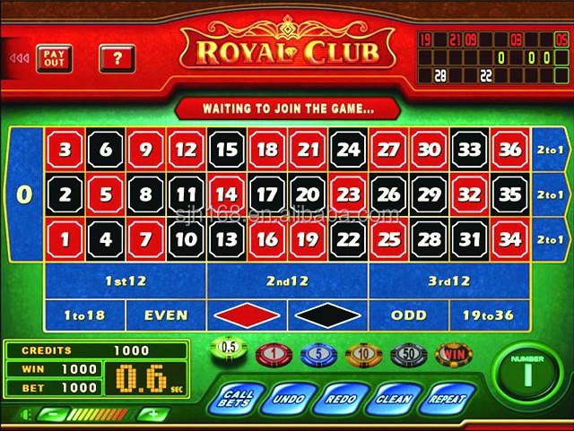 Royal club roulette game board 777 dragon casino bonus codes