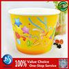 2015 hotsale disposbale popcorn box / holder/bucket