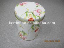 small round metal cans wholesale
