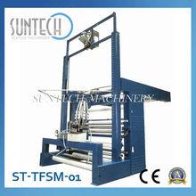 SUNTECH Vertical Tubular Fabric Slitting Machine For Textile Industry