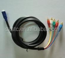 Manufacture stc cable DVI VGA cable vga 15pin male to dvi 9pin 1.8m male cable