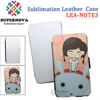 Customize purse leather case for samsung galaxy note 3
