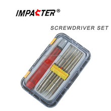 7 in1 plastic screwdriver bit set hand tools
