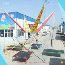 Outdoor Playground Bungee Trampoline 4 Persons