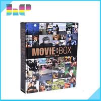 Hard Cover Movie Album / Awarded Movie/Music Hard Cover Book Printing