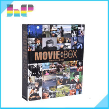 Hard Cover Movie Album / Awarded Movie/Music Hard Cover Book Printing