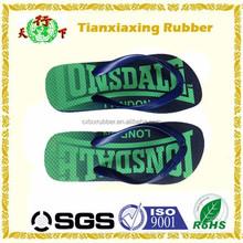 spa concise plain non slip sandals flip flops slippers natural rubber