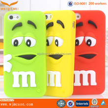 Customized Hot For Iphone6 New Products Fashion Animal Shape Silicone Phone Case for iPhone6 Case