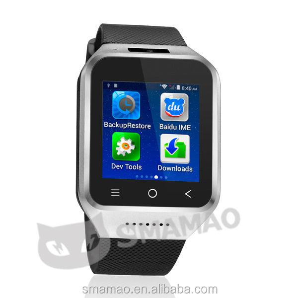 2014 3G android cell phone watch android watch phone with wifi GPS bluetooth camera
