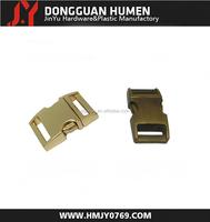 Jinyu colored metal buckle/metal auto lock buckle/quick release buckle for belt
