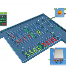 2.4Ghz active rfid car parking administration system