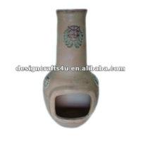 garden clay terracotta chimney