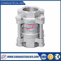 spring loaded vertical check valve for faucet