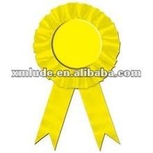 Hot Sale make award fabric ribbon rosettes