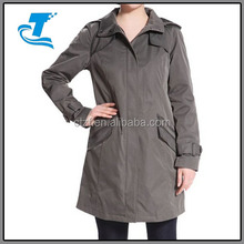 New Style Ladies Waterproof Hooded Rain Coat