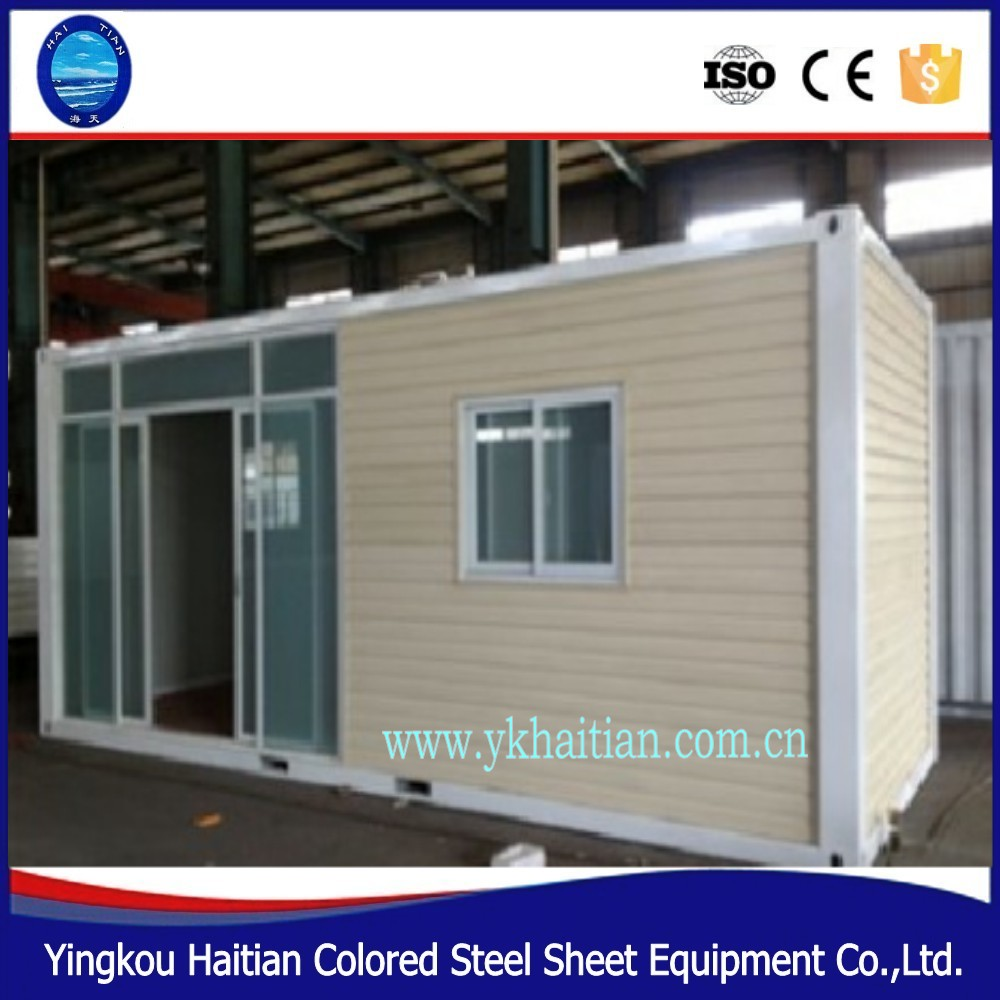Guest bedroom house prefab accommodation container house for Smart house container