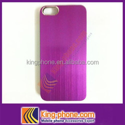 alibaba china hot selling cheap aluminum hard mobile phone case for Iphone 5s