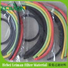 Buena calidad del aire junta de goma del filtro anillo / caucho / junta / caucho o ring / goma gesket anillo