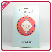 Creative felt cross stitch kit